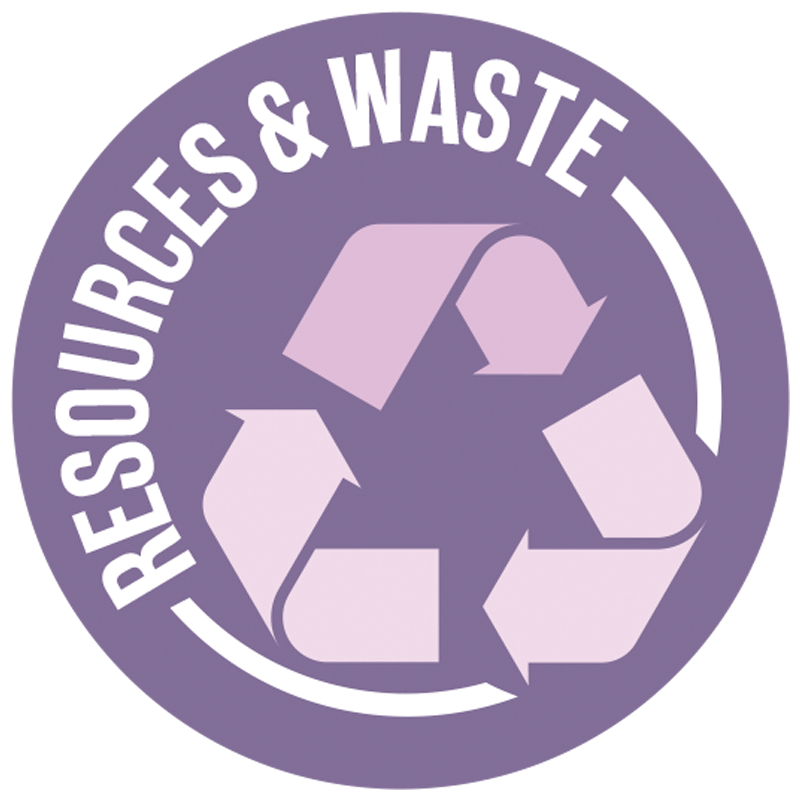 Resources and Waste Icon Icon