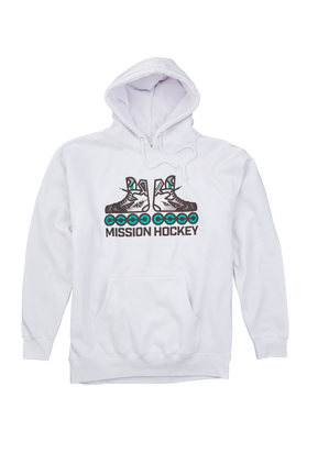 MISSION RH SKATER HOODIE SENIOR,,Medium