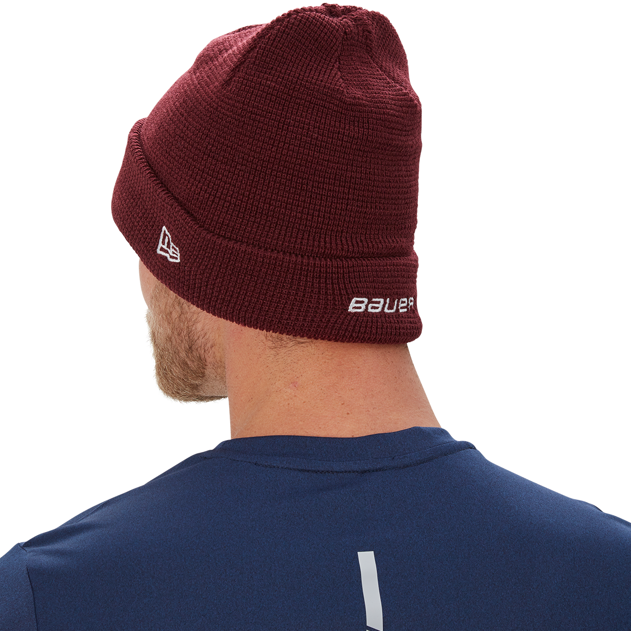 New Era Team Knit Toque,Maron,moyen