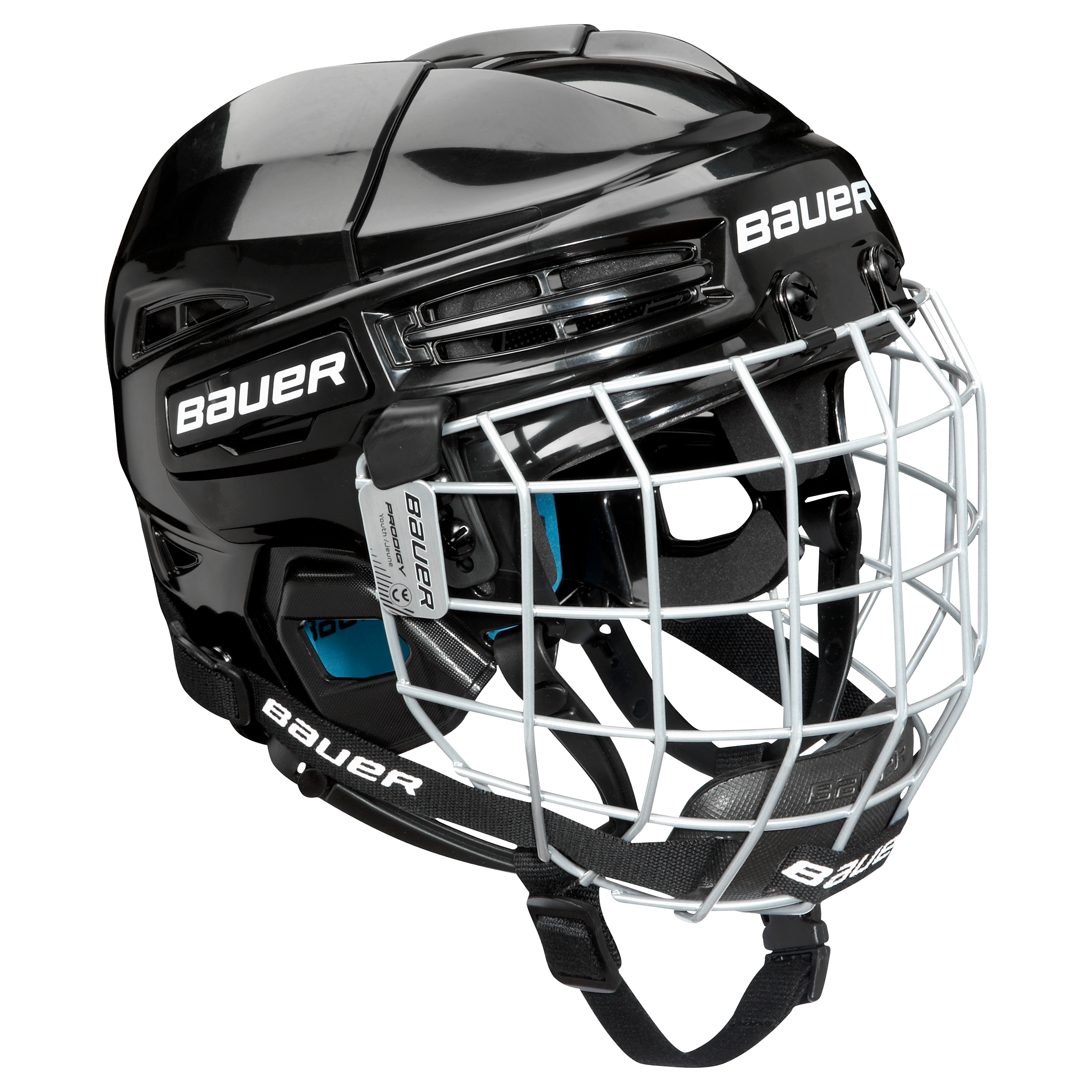 PRODIGY Youth HELMET Combo,BLACK,medium