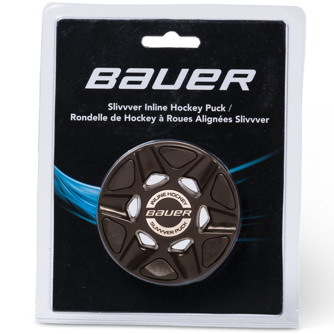 BAUER RH SLIVVVER PUCK (SINGLE PACKAGED)