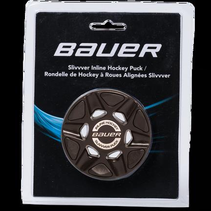 BAUER RH SLIVVVER PUCK (SINGLE PACKAGED),BLK,medium
