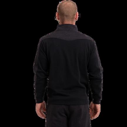 Premium 1/4 Zip Fleece Senior - Black,,medium