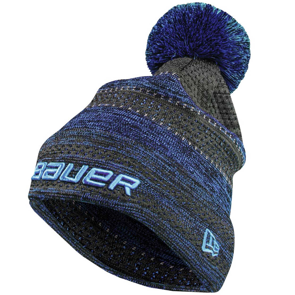 New Era® Color Pop Striped Pom Pom Senior - Sapphire,,medium