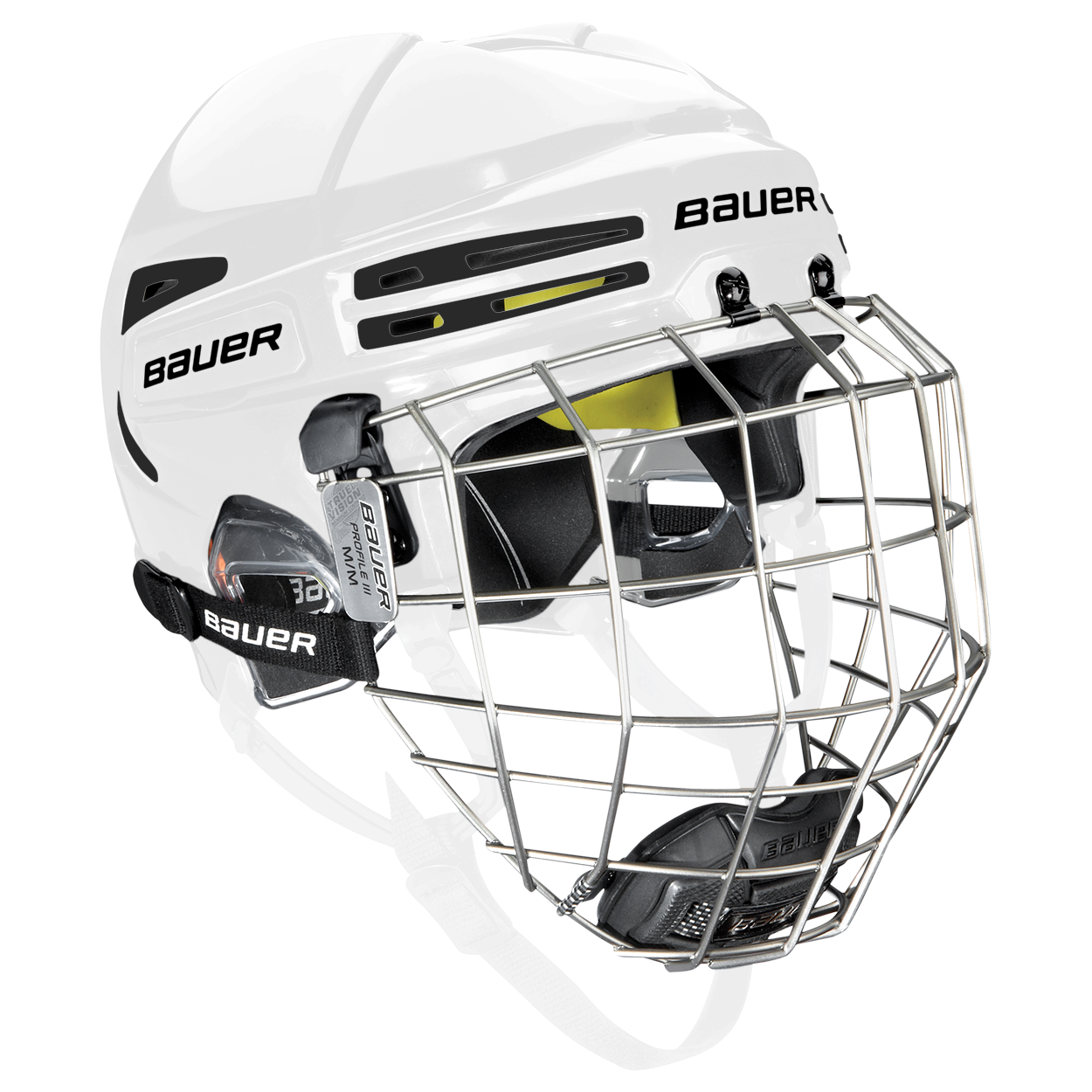 RE-AKT 75 Helmet Combo,WHITE,medium