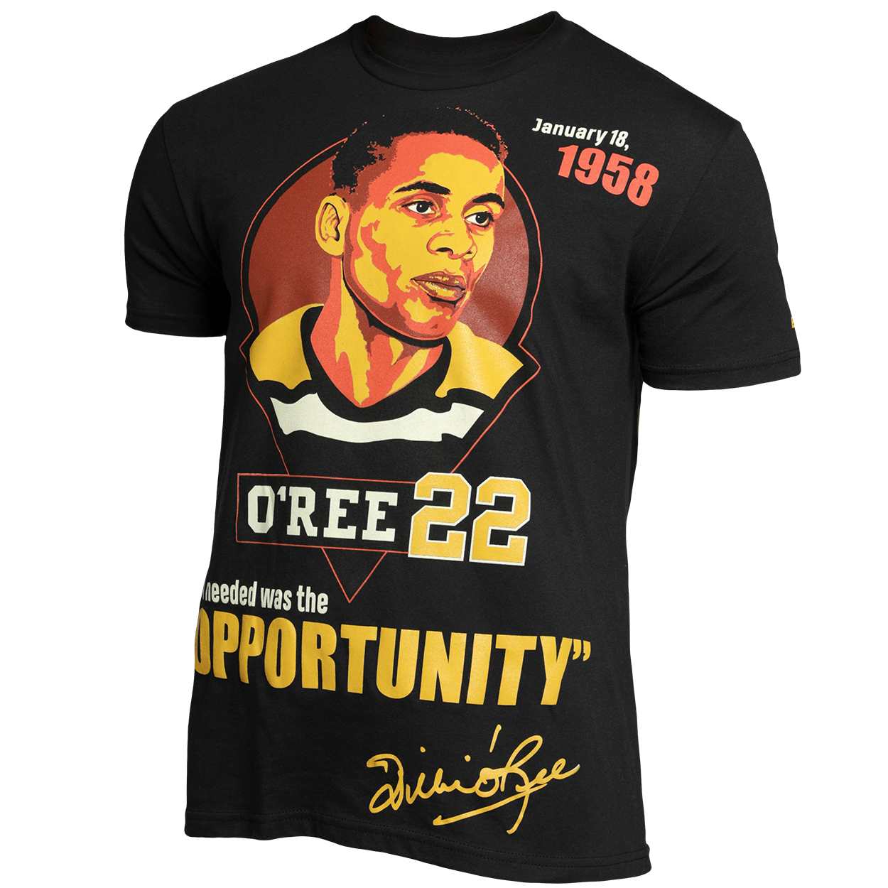 BAUER Willie O'Ree Celebration T-Shirt Senior,,medium
