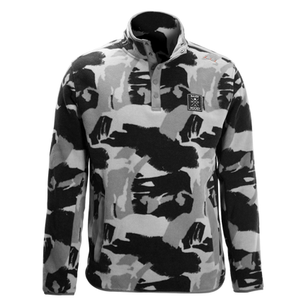 BAUER FLC Microfleece Pullover Senior,Black,medium