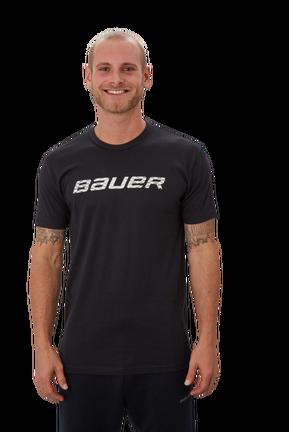 Short Sleeve T-Shirt with Graphic,Schwarz,Medium
