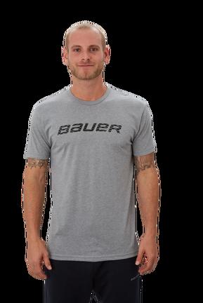 Short Sleeve T-Shirt with Graphic,Gråmelerad,medium