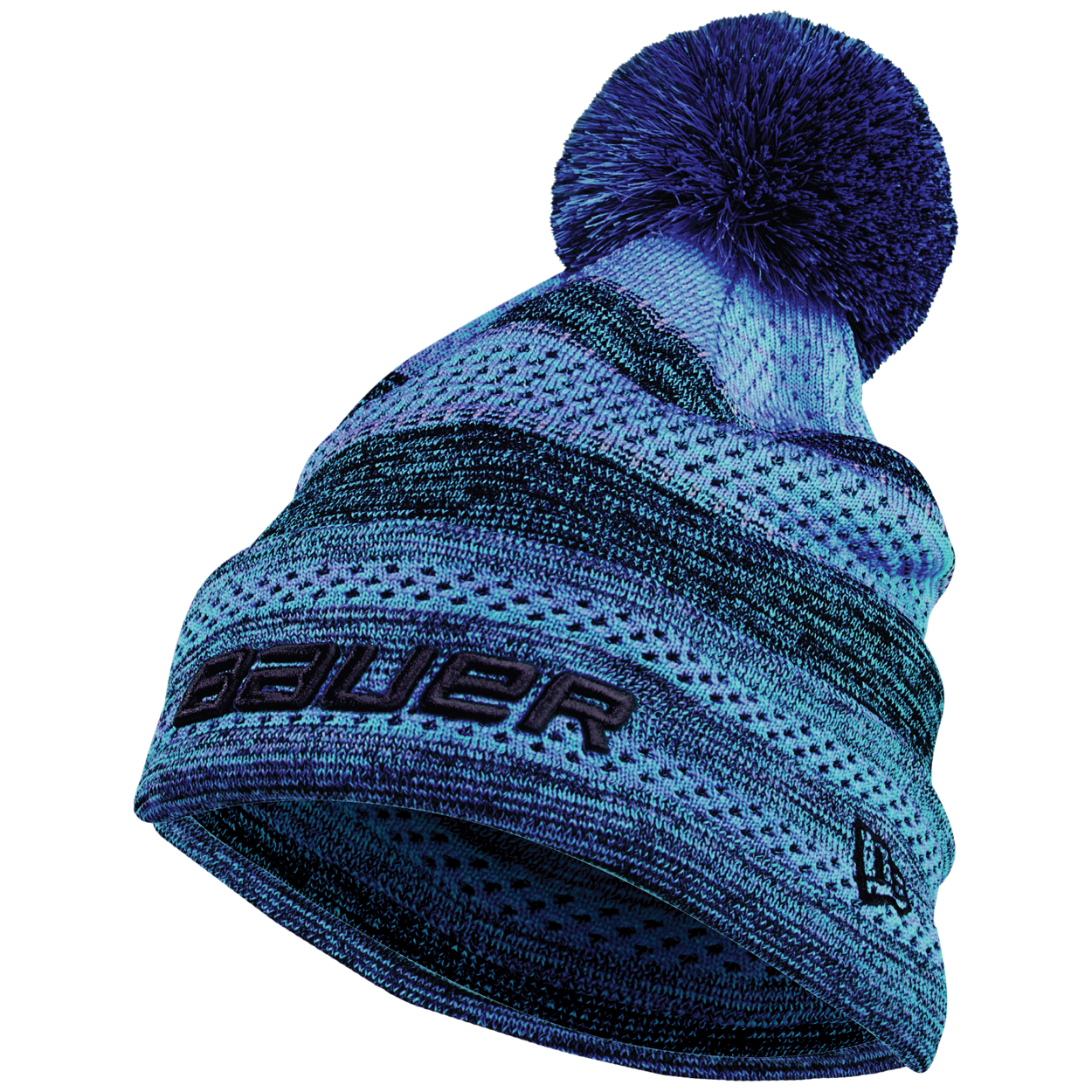 New Era® Color Pop Striped Pom Pom Youth - Sapphire