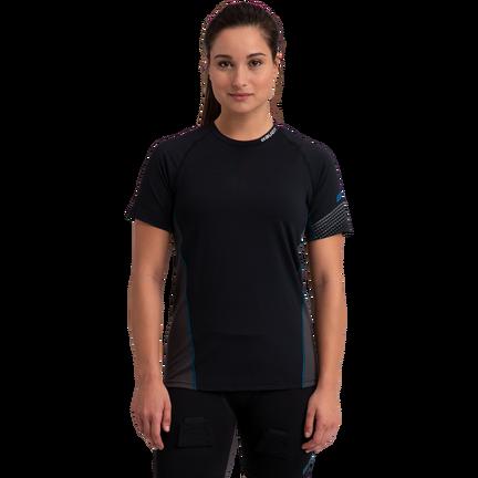Women's Short Sleeve Base Layer Top,,moyen