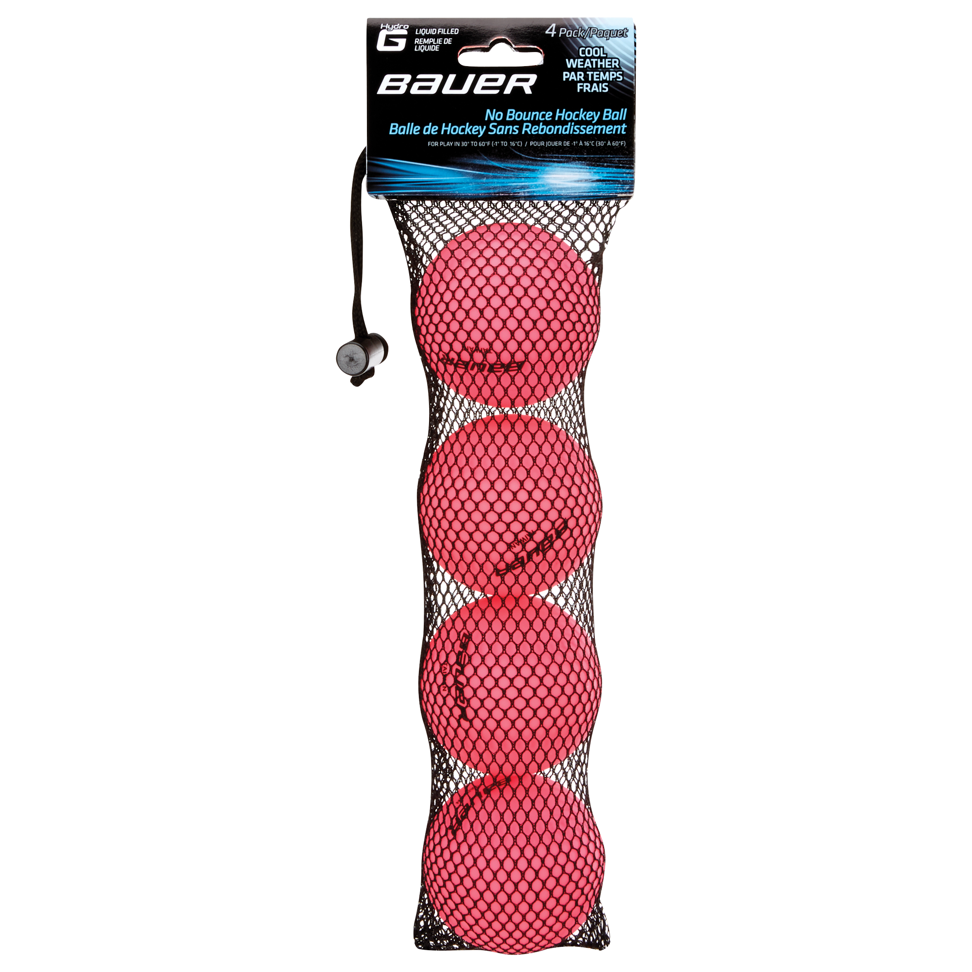 HydroG Liquid Filled No Bounce Cool Weather Hockey Balls,,medium