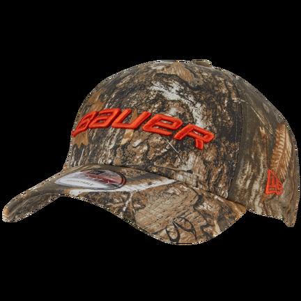 New Era 9FORTY Snapback Hunt Camo Hat,Camo,medium