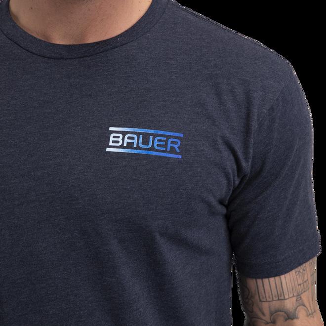 BAUER Core Short Sleeve Tee Color Pop Senior - Sapphire