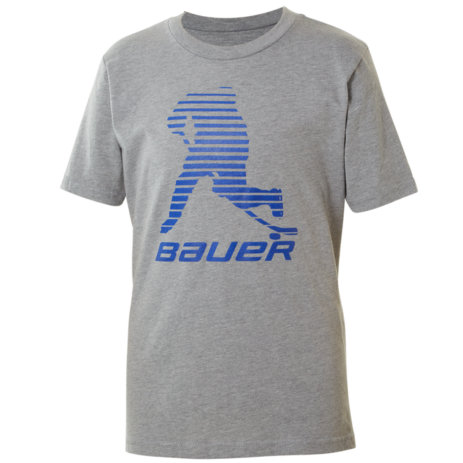 BAUER Core Short Sleeve Tee Color Pop Youth - Sapphire