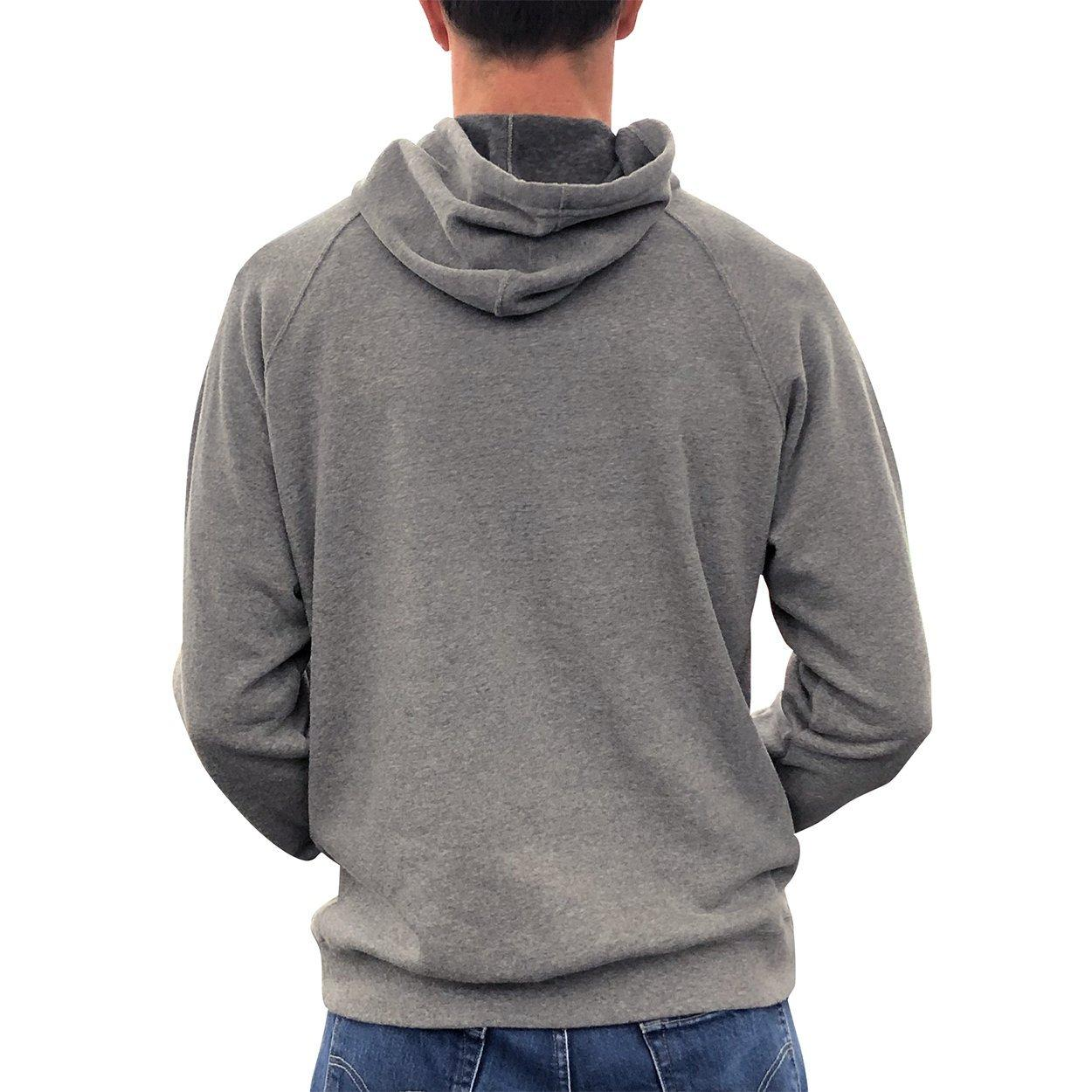 Core Fleece Hoody w/Graphic,Heather Grey,medium