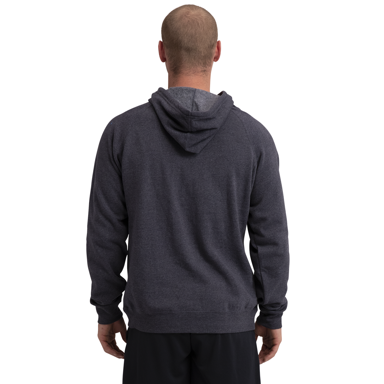 Core Fleece Hoody w/Graphic,Navy,medium