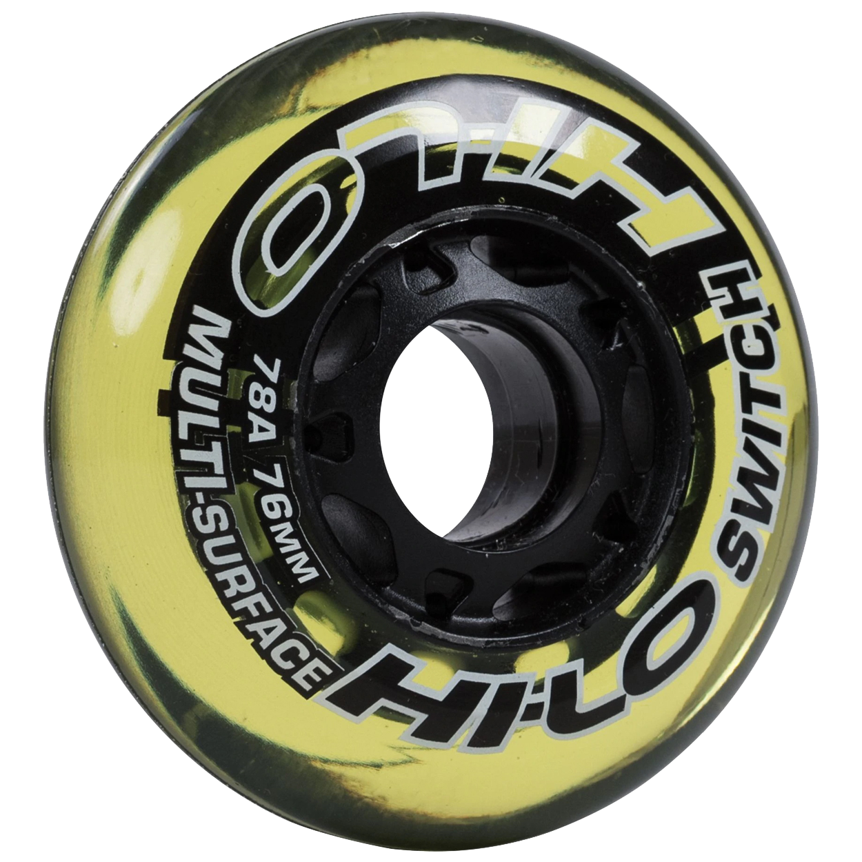 HI-LO SWITCH ROLLER HOCKEY WHEELS 4PK S16 (INDOOR / OUTDOOR),,Medium