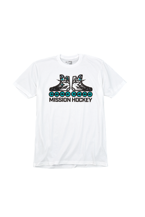 MISSION RH SKATER T-SHIRT SENIOR,,Medium
