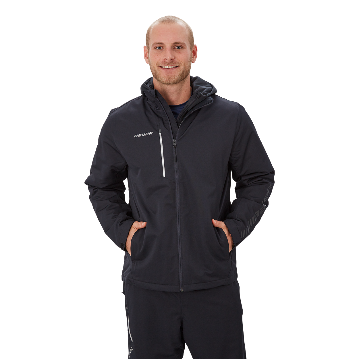Bauer Supreme Midweight Jacket,Black,medium