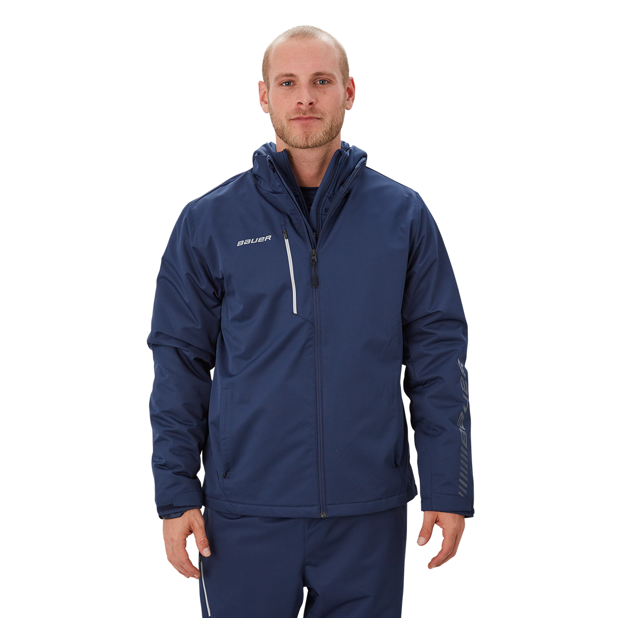 Bauer Supreme Midweight Jacket,Marineblau,Medium