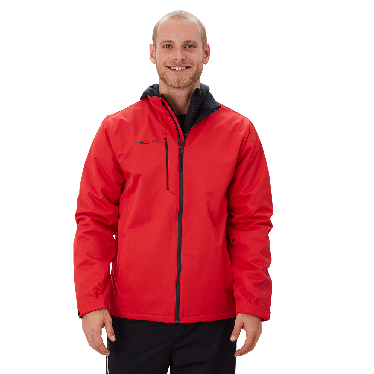 Bauer Supreme Midweight Jacket,Rot,Medium