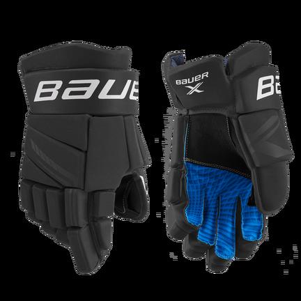 BAUER X Glove Senior,Schwarz/weiß,Medium