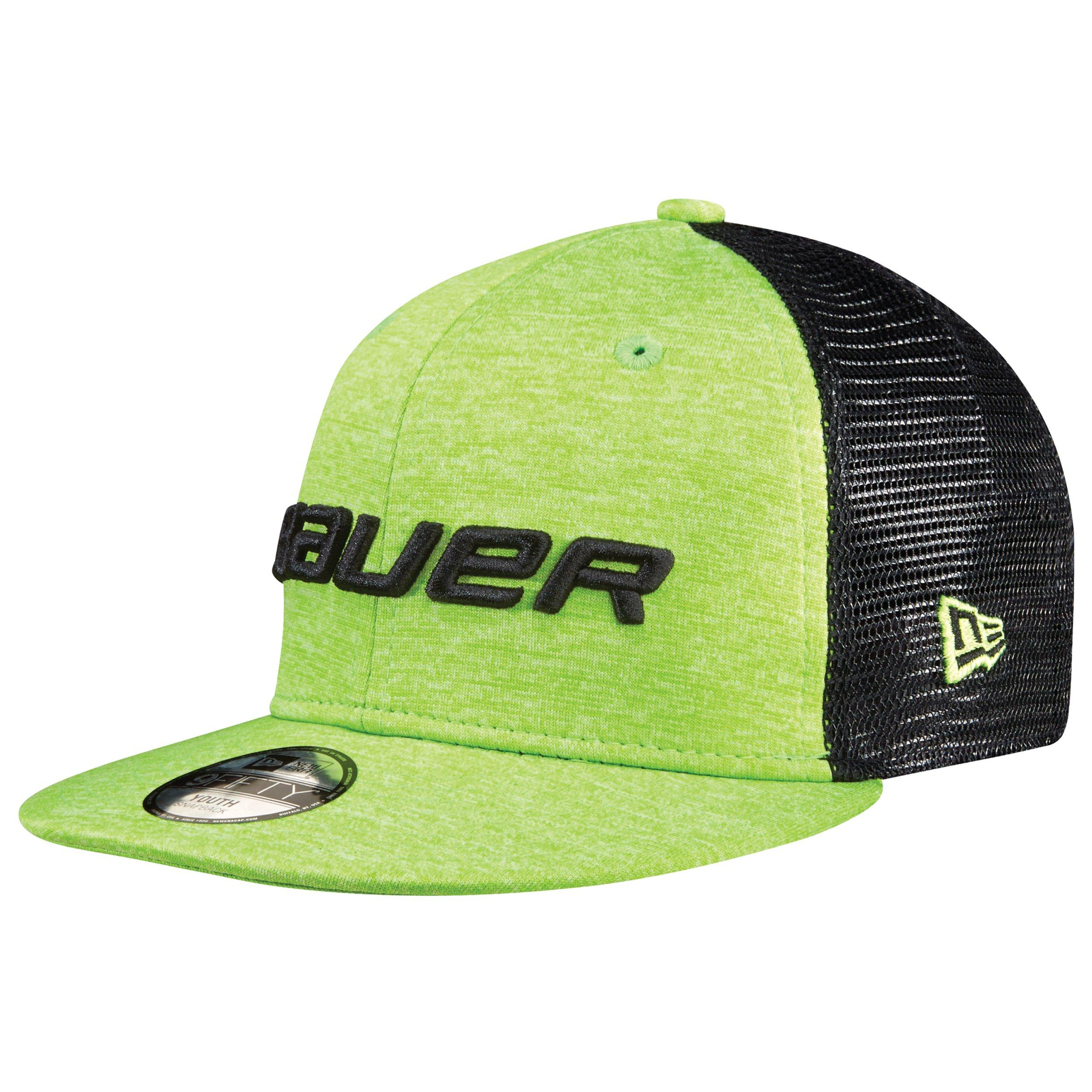 BAUER / New Era® 9FIFTY® Color Pop Adjustable Cap Youth - Lime,,Medium