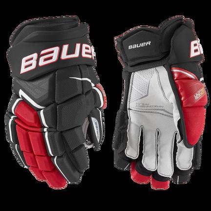 SUPREME ULTRASONIC Glove Senior,Svart röd,medium