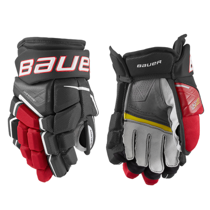 SUPREME ULTRASONIC Glove Junior,Schwarz/rot,Medium