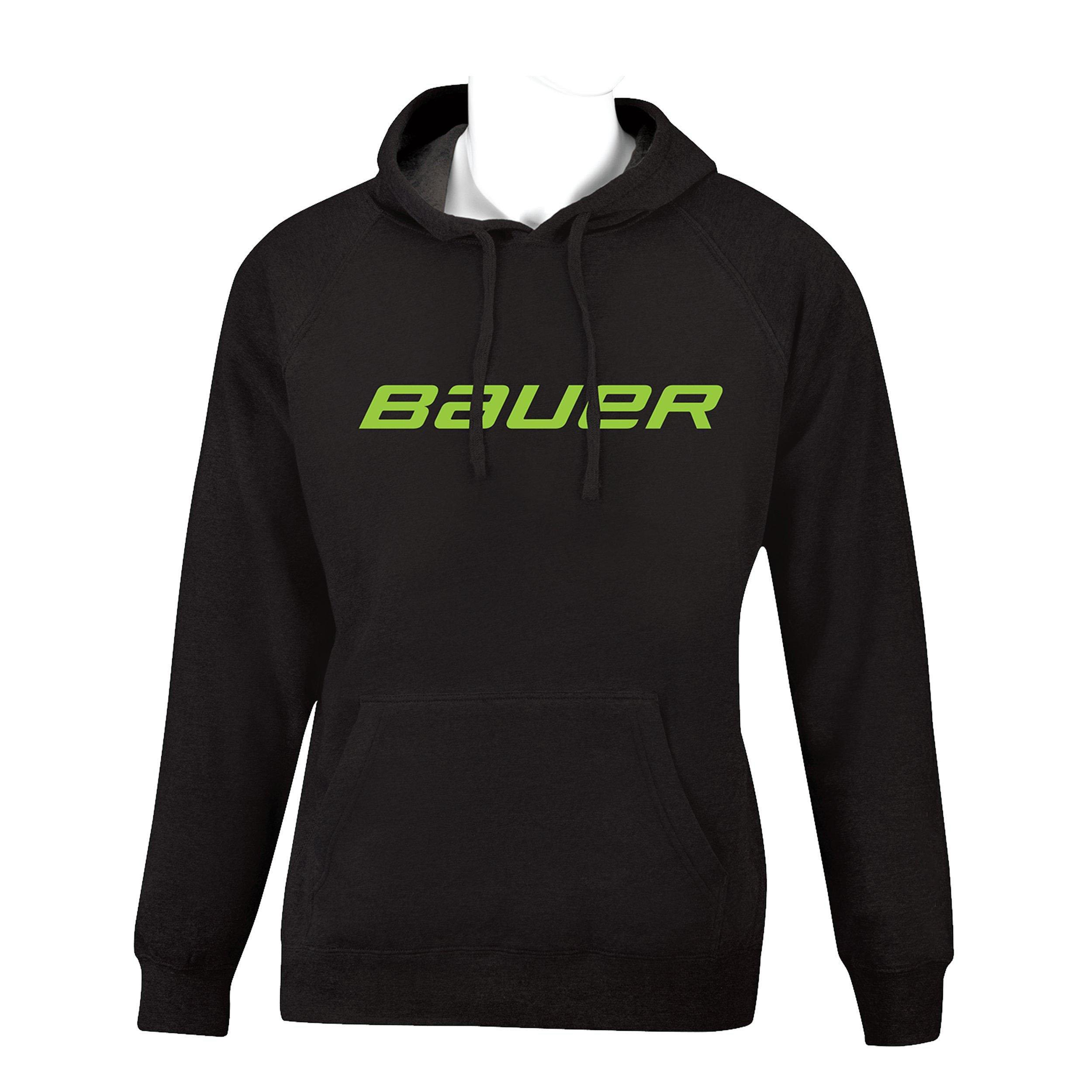 BAUER Core Hoody Color Pop Senior - Lime,,medium