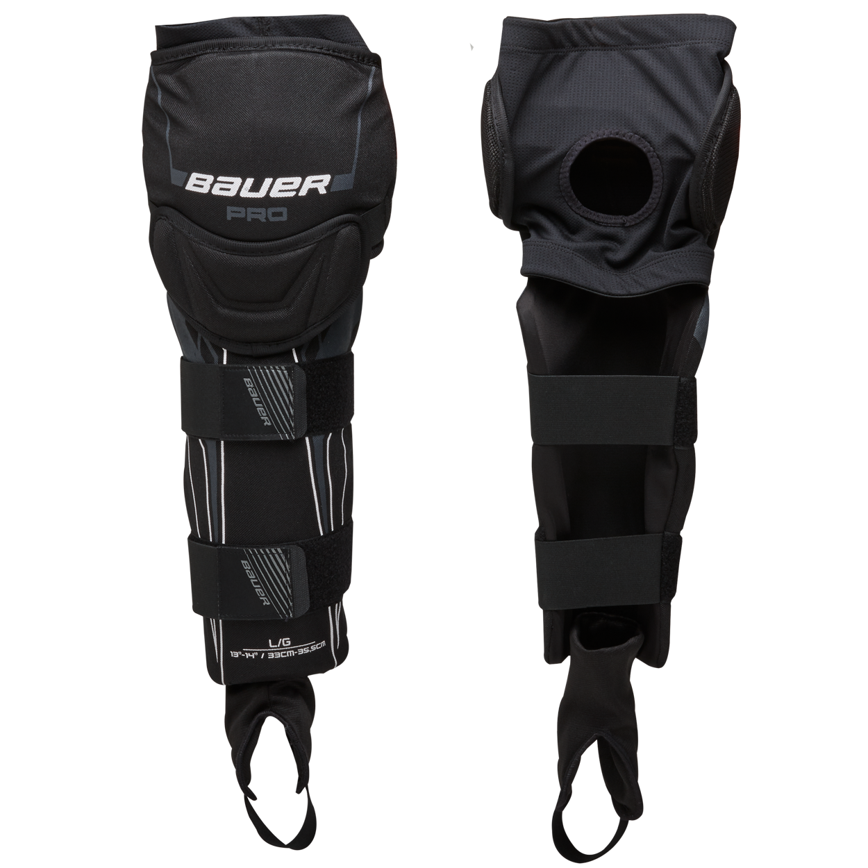 PRO Ball Hockey Shin Guard - Senior,,Medium