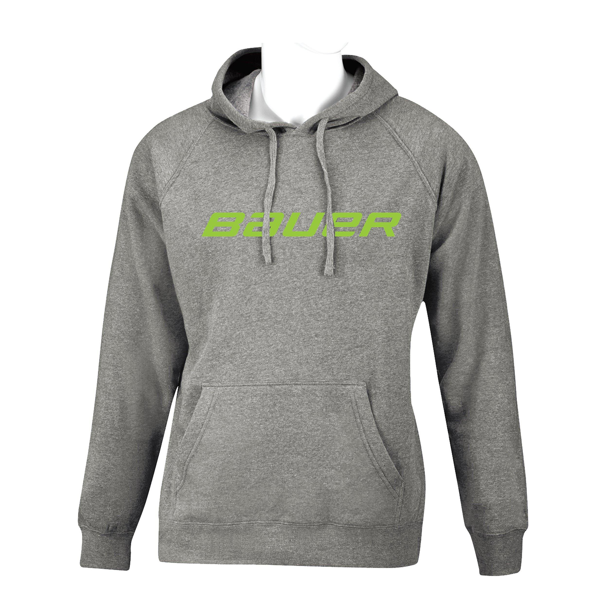 BAUER Core Hoody Color Pop Youth - Lime,,Размер M