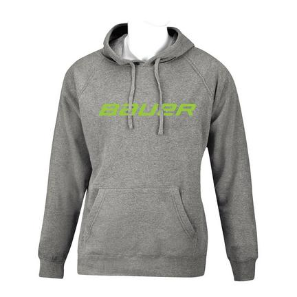 BAUER Core Hoody Color Pop Youth - Lime,,medium