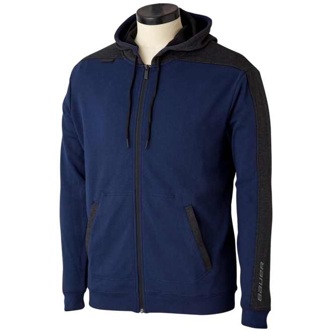 Premium Fleece Full Zip - Navy