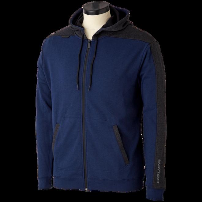 Premium Fleece Full Zip Senior - Navy