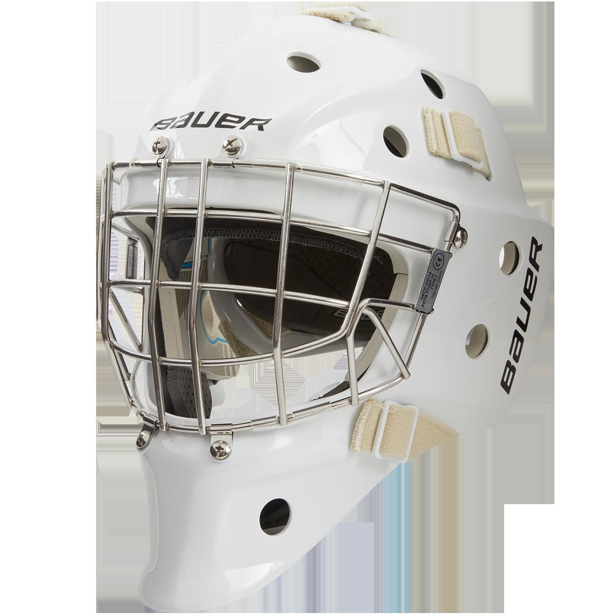 940 Goal Mask Junior,Weiß,Medium
