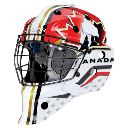 NME STREET Hockey GOAL MASK Youth,CANADA,medium