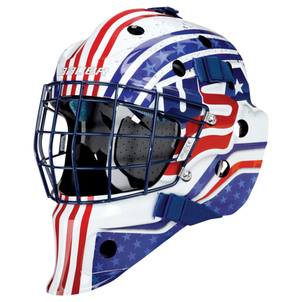 NME STREET Hockey GOAL MASK Youth,USA,medium