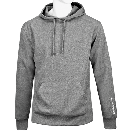 Performance Fleece Kapuzenpulli,GRAU MELIERT,Medium