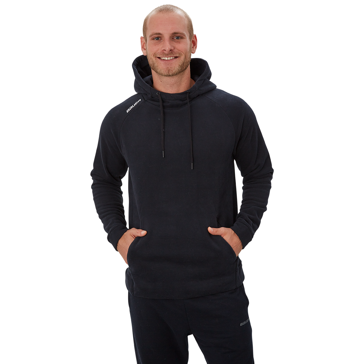 Bauer Perfect Hoodie,Schwarz,Medium