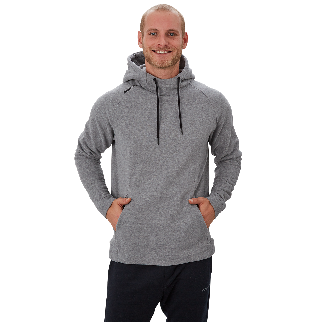 Bauer Perfect Hoodie,Grau,Medium