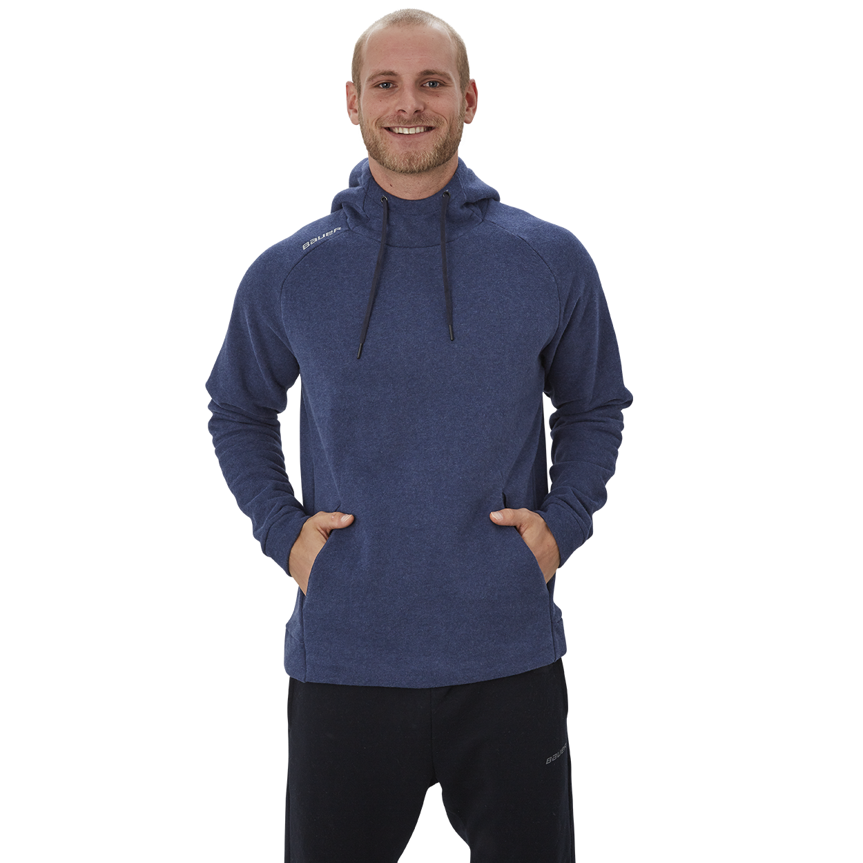 Bauer Perfect Hoodie,Marineblau,Medium