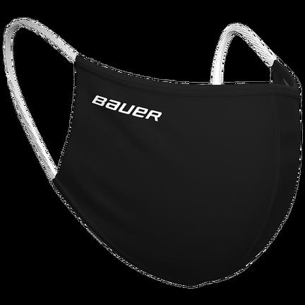 Bauer Reversible Fabric Face Mask Black/Camo,Black/Camo,medium
