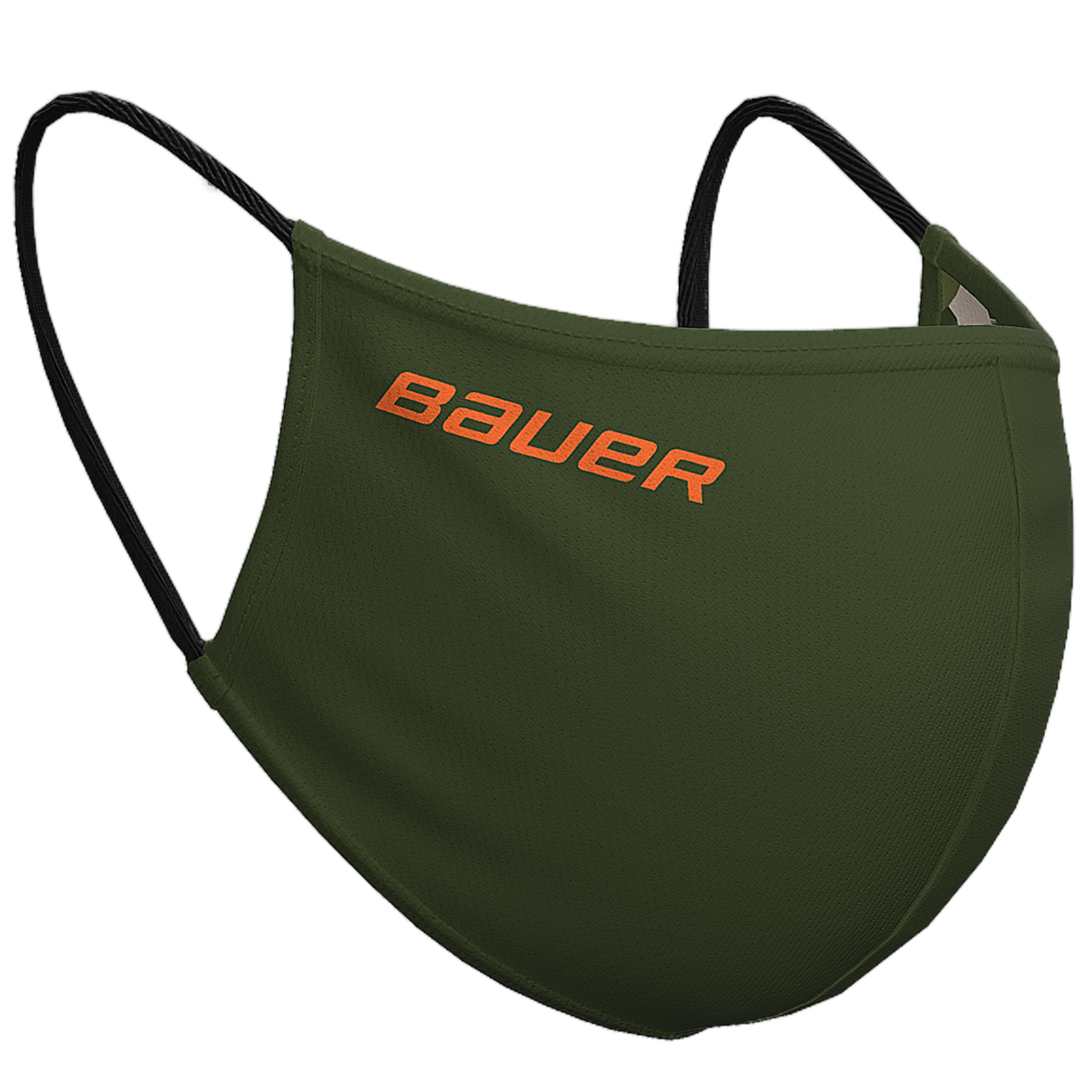 Bauer Reversible Fabric Face Mask Green/Camo