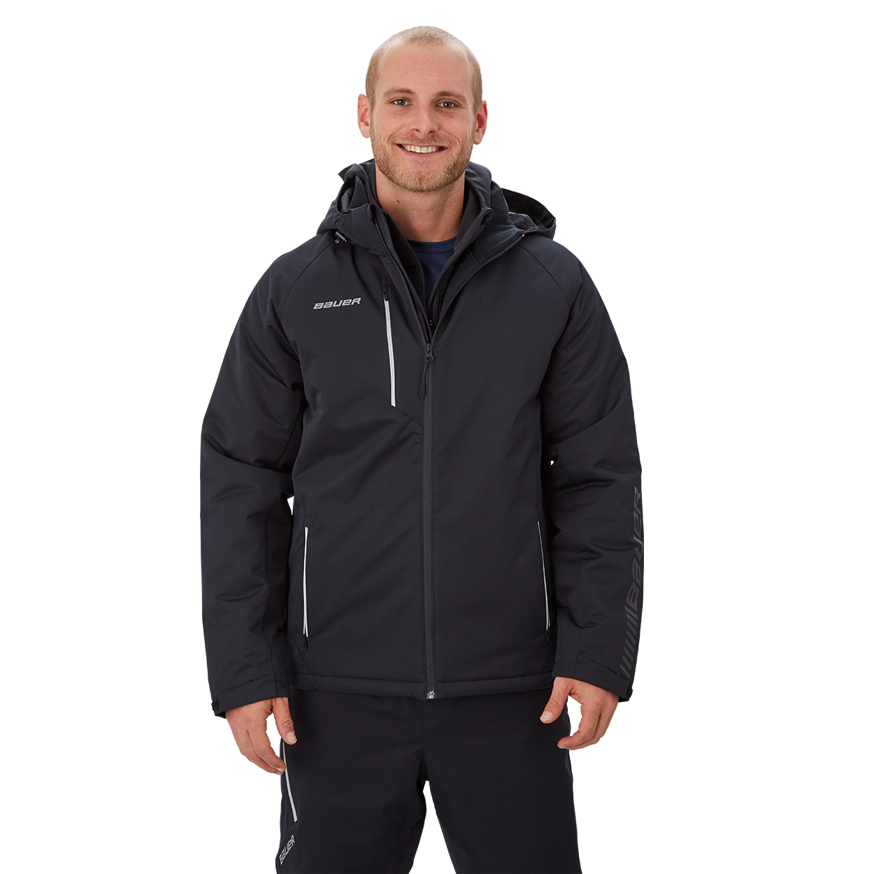 Bauer Supreme Heavyweight Jacket,Черный,Размер M