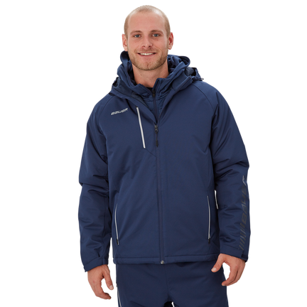 Bauer Supreme Heavyweight Jacket,Marinblå,medium