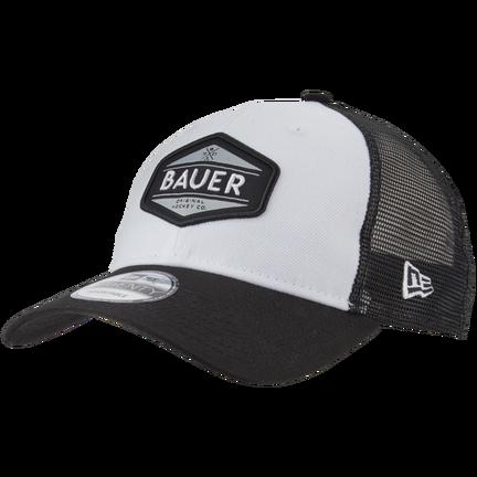 New Era 9TWENTY Adjustable Patch Hat,Vit,medium