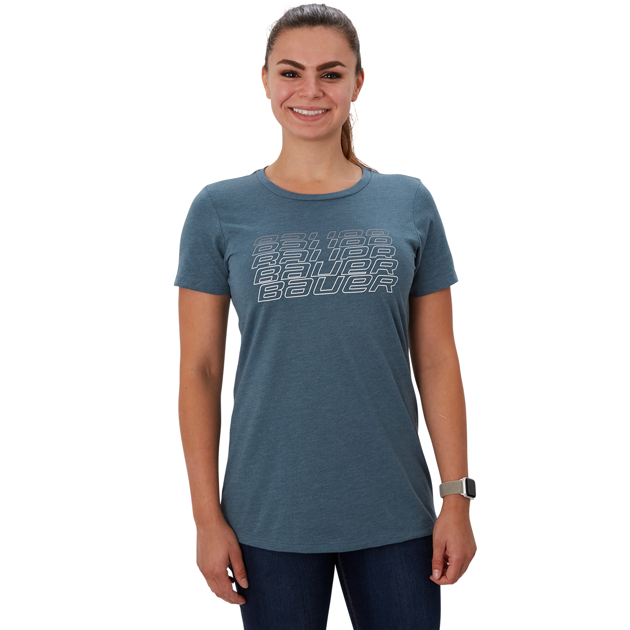 Fade Short Sleeve Women's T-Shirt,,Medium