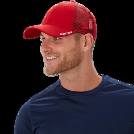 New Era 940 Team Cap,Red,medium